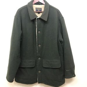 Woolrich Wool Sherpa-Lined Winter Ranch Jacket L